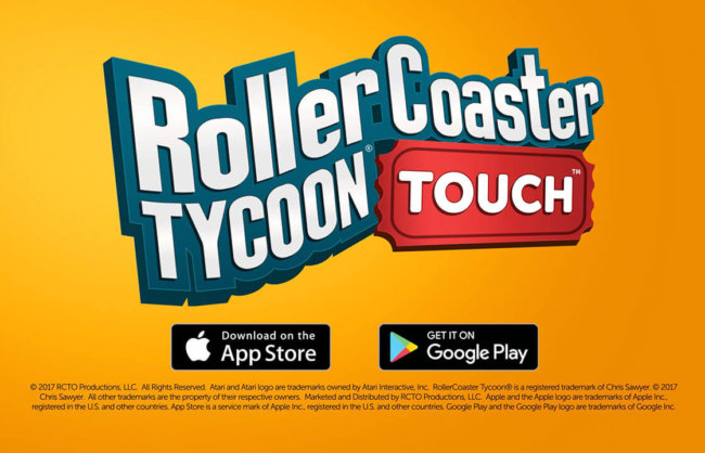 acquisition de nouveaux utilisateurs RollerCoaster Tycoon Touch : Trailer & User Acquisition campaign
